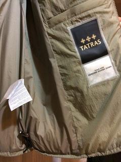 タトラス ダウン ジャケット コート